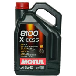 СИНТЕТИЧНО МАСЛО MOTUL 8100 X-CESS 5W40 4L