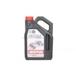 Синтетично масло MOTUL HYBRID 0W20 4L